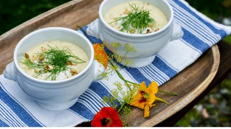 vegansk soppa