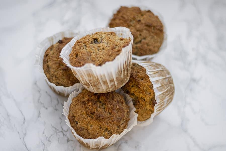gluten och sockerfria muffins