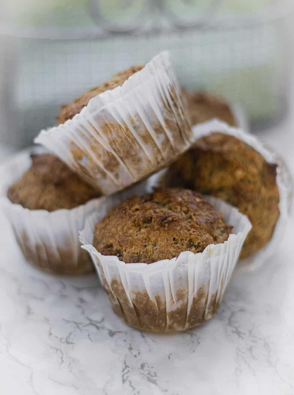 mjölkfria muffins med olja